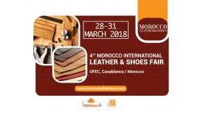 Morocco Leather & Shoes Fair - 4-я Международная выставка кожи и обуви в Марокко, которая проходила с 28 по 31 марта 2018 года