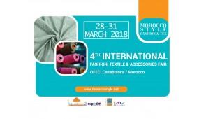 Morocco Style - 4-я Международная выставка моды, текстиля и аксессуаров 28-31 марта 2018 года в OFEC, La Foire Internationale de Casablanca.