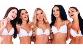 Різноманіття форм жіночої краси у білизні